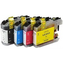 Brother LC223 Multipack CMYK Compatible