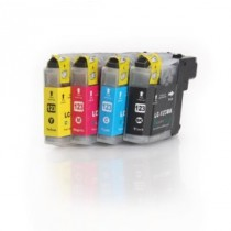 Brother LC123Bk Triple Pack Compatible (version 3)