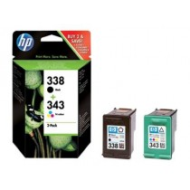 HP Original 338/343 Combo Pack